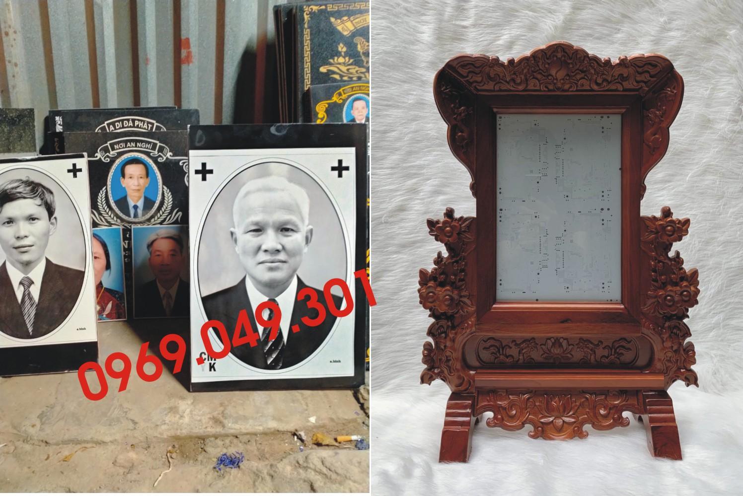 Mẫu khung ảnh thờ đẹp tại hà nội.