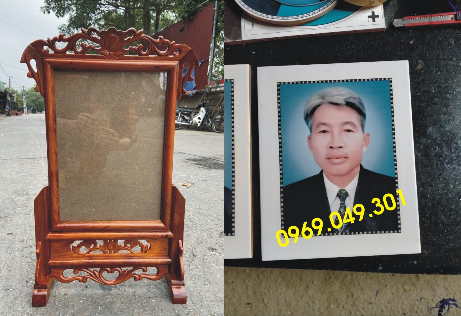 mẫu khung ảnh thờ bằng gỗ tại hà nội